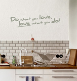 Do What You Love Wall Decal