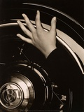 Georgia O'Keeffe, Hand on Back Tire of Ford V8, 1933 Art by Alfred Stieglitz