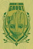 Guardians of the Galaxy: Vol. 2  - Groot (Exclusive) Plakater