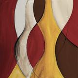 Crimson Coalescence II Poster by Lanie Loreth