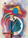 Hommage a Grohmann, 1926 Posters by Wassily Kandinsky