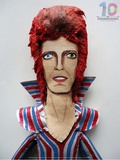 David Bowie Doll, 2013 Print by Mediodescocido Mediodescocido