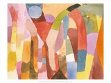Movement of Vaulted Chambers, 1915 Posters by Paul Klee