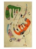 Composition ll, 1922 Prints by Wassily Kandinsky