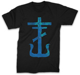 Frank Iero - Blue Cross Shirts