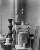 Brancusi's Studio, 1920 Prints by Edward Steichen