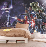 Avengers - City Night Carta da parati decorativa