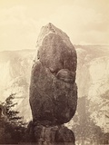 Agassiz Column, Near Union Point, 1866 - 1872. Print by Carleton Watkins