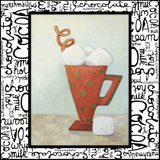 Tis the Season for Cocoa III Print by  Diannart