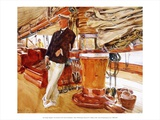 On the Deck of the Yacht Constellation, 1924 Prints by John Sargent