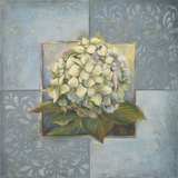 Hydrangeas on Blue I Posters by Patricia Pinto