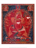 Dancing Red Ganapati of the Three Red Deities, 15-16th c Prints by  Unknown