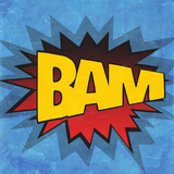 BAM Poster by  SD Graphics Studio