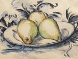 Three Pears, 1888-90 Posters by Paul Cézanne