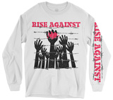Long Sleeve: Rise Against - Prisoners T-Shirt