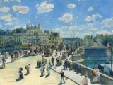 Pont-Neuf, 1872 Poster by Pierre-Auguste Renoir