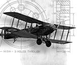 Flight Plans I Prints by Michael Marcon