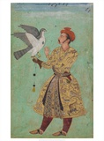 Prince With a Falcon India, c 1600 - 05 Prints by  Unknown