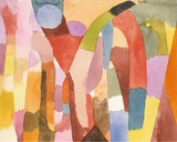 Movement of Vaulted Chambers, 1915 Prints by Paul Klee