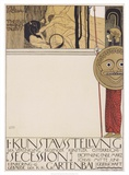 Secession I, 1868 Posters by Gustav Klimt