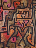 Forest Witches, 1938 Prints by Paul Klee