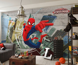 Spider-Man - Concrete Wallpaper Mural