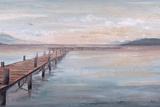 Calm Placid Lake Prints by Patricia Pinto
