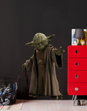 Star Wars, La Guerre des étoiles - Yoda (Poster, Film, Saga, Science-Fiction) Autocollant mural