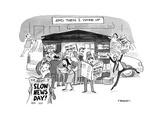 Then I Woke Up - Cartoon Premium Giclee Print by Pat Byrnes