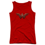 Juniors: Wonder Woman Movie - Logo Tank Top Womens Tank Tops
