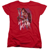 Womens: Wonder Woman Movie - American Hero T-Shirt