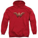 Hoodie: Wonder Woman Movie - Logo Pullover Hoodie