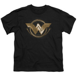 Youth: Wonder Woman Movie - Lasso Logo T-Shirt