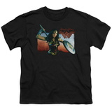 Youth: Wonder Woman Movie - Warrior Woman T-Shirt