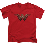 Juvenile: Wonder Woman Movie - Logo T-shirts