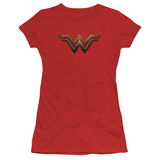 Juniors: Wonder Woman Movie - Logo Shirts