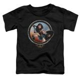 Toddler: Wonder Woman Movie - Battle Pose Shirt