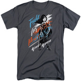 Wonder Woman Movie - Fight For Peace (Big & Tall) T-Shirt