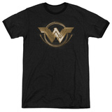 Wonder Woman Movie - Lasso Logo Ringer T-shirts