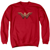 Crewneck Sweatshirt: Wonder Woman Movie - Logo T-shirts