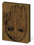 Guardians of the Galaxy Vol. 2 - Groot A5 Premium Notebook Lommebog