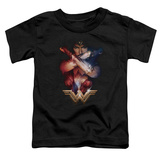 Toddler: Wonder Woman Movie - Arms Crossed T-shirts