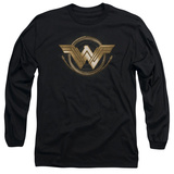 Long Sleeve: Wonder Woman Movie - Lasso Logo Long Sleeves