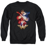 Crewneck Sweatshirt: Wonder Woman Movie - Arms Crossed T-shirts