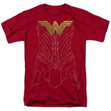 Wonder Woman Movie - Armor Outline Shirts