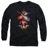 Long Sleeve: Wonder Woman Movie - Arms Crossed T-Shirt