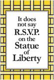 No R.S.V.P. Affiche