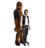 Han Solo & Chewbacca - Star Wars 40th Anniversary Cardboard Cutouts
