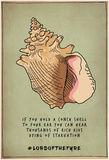 Conch Shell Voices Posters
