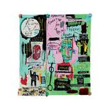 In Italian, 1983 Reproduction procédé giclée par Jean-Michel Basquiat